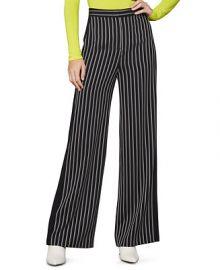 BCBGMAXAZRIA Striped Wide-Leg Pants   Reviews - BCBGMAXAZRIA - Women - Macy s at Macys