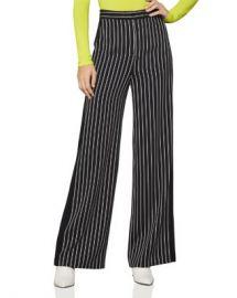BCBGMAXAZRIA Striped Wide-Leg Pants  Women - Bloomingdale s at Bloomingdales