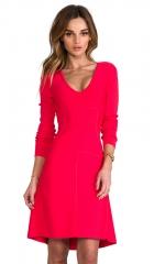 BCBGMAXAZRIA Sydney Dress in Red Berry  REVOLVE at Revolve