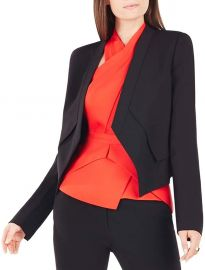 BCBGMAXAZRIA Women s Lloyd Easy Layered Jacket at Amazon