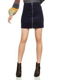BCBGMAXAZRIA Zip-Front Corduroy Mini Skirt - 100  Exclusive Women - Bloomingdale s at Bloomingdales