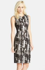 BCBGMAXAZRIA and39Larisaand39 Sequin Sheath Dress at Nordstrom