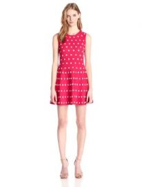 BCBGMAZAZRIA Womenand39s Jo Jacquard A-Line Dress at Amazon