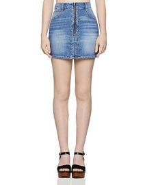 BCBGeneration Studded Denim Mini Skirt Women - Bloomingdale s at Bloomingdales