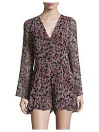 BCBGeneration Autumn Bouquet Romper at Lord & Taylor