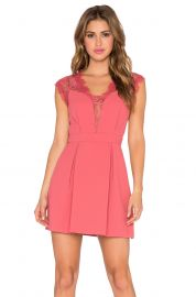 BCBGeneration Lace Inset Cocktail Dress at Revolve
