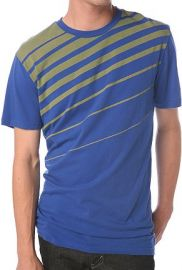 BDG Angled Stripe Tee at Urban Outfitters
