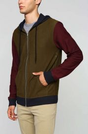 BDG Colorblock Hoodie at Urban Outfitters