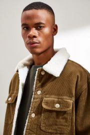 BDG Corduroy Sherpa Trucker Jacket at Urban Outfitters