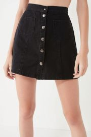 BDG Denim Skirt at Urban Outfitters