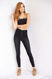 BDG High Rise Button Fly Jeans at Urban Outfitters