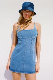 BDG Structured Scoop Neck Mini Dress at Urban Outfitters
