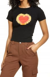 BDG Urban Outfitters Flaming Heart Graphic Tee   Nordstrom at Nordstrom