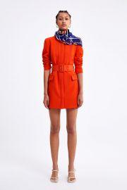 BELTED FROCK COAT at Zara