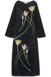 BERNADETTE - Floral-print silk crepe de chine maxi dress at Net A Porter
