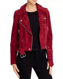 BLANKNYC Suede Moto Jacket Women - Bloomingdale s at Bloomingdales