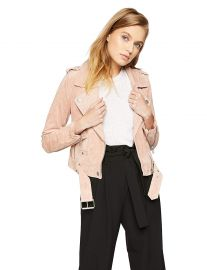 BLANKNYC  Women s Suede Moto Jacket Outerwear at Amazon