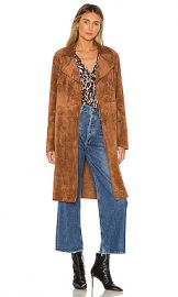 BLANKNYC Coco Faux Suede Trench in Coco from Revolve com at Revolve