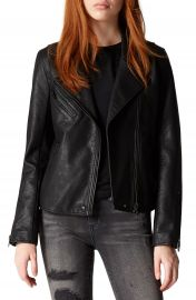 BLANKNYC Faux Leather Moto Jacket   Nordstrom at Nordstrom