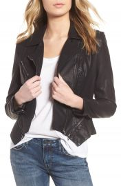 BLANKNYC Faux Leather Moto Jacket  Regular  amp  Plus Size    Nordstrom at Nordstrom