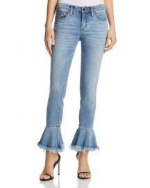 BLANKNYC Flare-Cuff Jeans at Bloomingdales