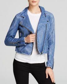 BLANKNYC Jacket - Faux Leather Moto at Bloomingdales
