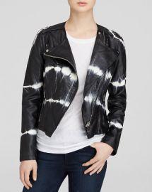 BLANKNYC Jacket - Tie-Dye Faux Leather Moto at Bloomingdales