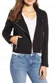 BLANKNYC Knit Moto Jacket   Nordstrom at Nordstrom