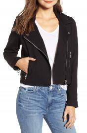 BLANKNYC Knit Moto Jacket   Nordstrom at Nordstrom