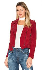 BLANKNYC Moto Jacket in Red Moon from Revolve com at Revolve