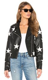 BLANKNYC Star Vegan Leather Jacket in The End Game from Revolve com at Revolve