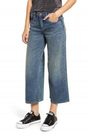 BLANKNYC Wide Leg Crop Jeans  Dip And Do It at Nordstrom