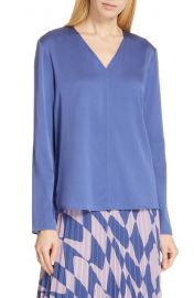 BOSS Ivala Stretch Silk Blouse   Nordstrom at Nordstrom