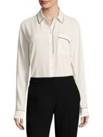 BOSS - Benisa Long Sleeve Blouse at Saks Fifth Avenue