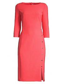 BOSS - Dikena Ponte Sheath Dress at Saks Fifth Avenue
