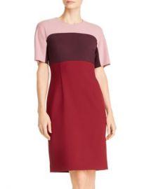 BOSS Donena Color Block Sheath Dress Women - Bloomingdale s at Bloomingdales