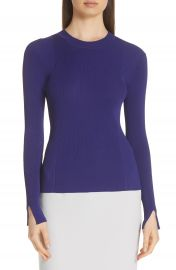 BOSS Feorgia Mix Rib Knit Sweater at Nordstrom