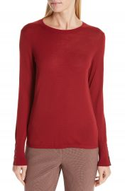BOSS Frankie Cuff Detail Wool Sweater  Nordstrom Exclusive    Nordstrom at Nordstrom