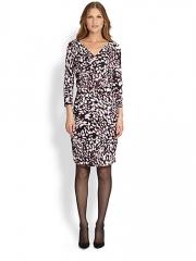 BOSS HUGO BOSS - Printed Jersey Dress at Saks Fifth Avenue