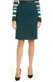 BOSS Vaxine Skirt in Pine at Nordstrom