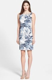 BOSS and39Dinomaand39 Belted Sheath Dress at Nordstrom