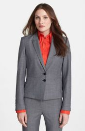 BOSS and39Joliaand39 Peplum Jacket at Nordstrom