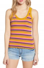 BP  Double Strap Stripe Tank Top   Nordstrom at Nordstrom