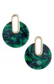 BP  Metal Post Marbled Earrings at Nordstrom