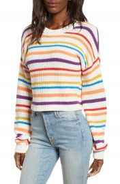 BP  Multistripe Cotton Sweater  Regular  amp  Plus Size    Nordstrom at Nordstrom