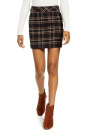 BP  Plaid Miniskirt   Nordstrom at Nordstrom