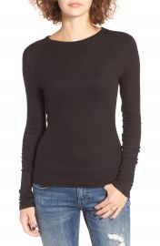 BP  Ribbed Long Sleeve Tee  Regular  amp  Plus Size    Nordstrom at Nordstrom