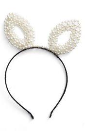 BP Pearly Bunny Ear Headband at Nordstrom
