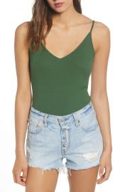 BP Rib Knit Bodysuit at Nordstrom