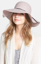 BP Rope Trim Floppy Felt Hat at Nordstrom